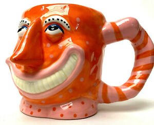 Judie Bomberger Jasper Whimsical Hand Made Mug