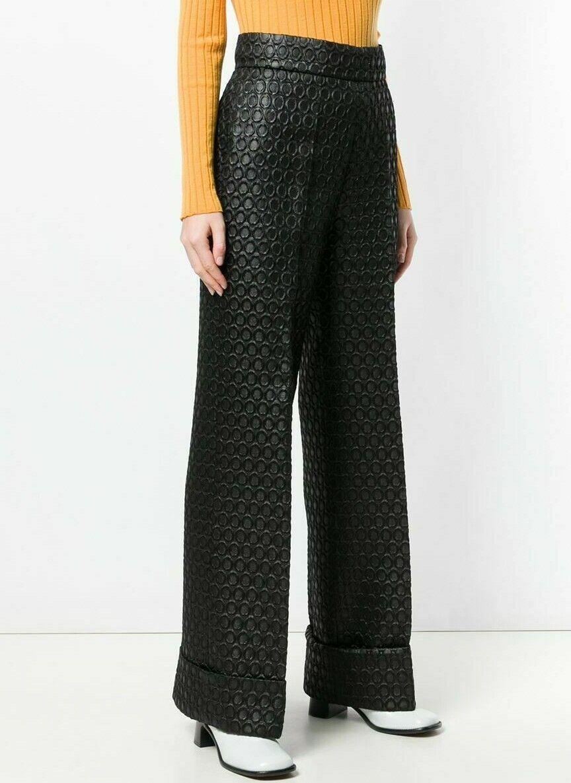 PRADA 1990's Vintage Pants Trousers Circular Desi… - image 12