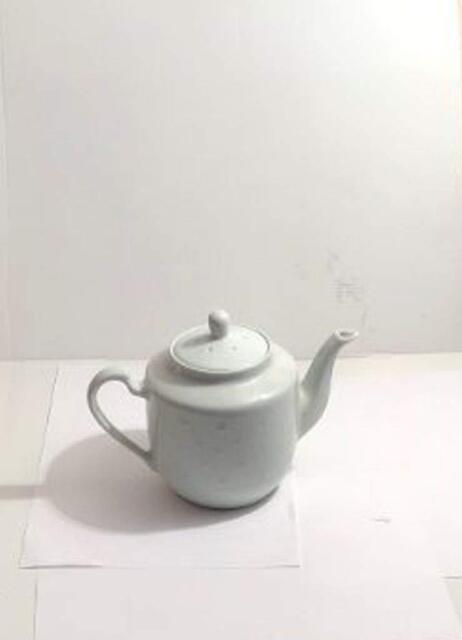 Tea Pot 1000cc Ceramic Rice Pattern Guaranteed quality 1603