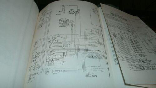 1976 CHEVROLET CORVETTE CAMARO NOVA VEGA MONTE CARLO WIRING DIAGRAMS MANUAL BOOK