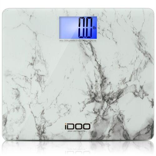 iDOO Digital Bathroom Scale Ultra Wide Heavy Duty Precision Oversized Digital