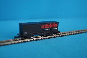 Marklin-8644-DB-Container-Car-034-MARKLIN-034-Mini-Club-collectable