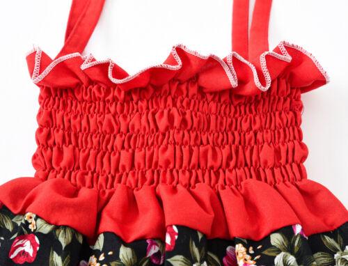 Details about  /Kids Girls Dress Sleeveless Strapless Strap Belt Party Pageant Princess Dress