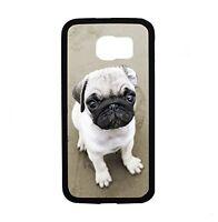 Pug Close Up For Samsung Galaxy S6 I9700 Case Cover