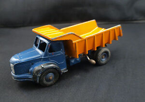 Dinky-Toys-F-n-34A-BERLIET-camion-benne-carrieres