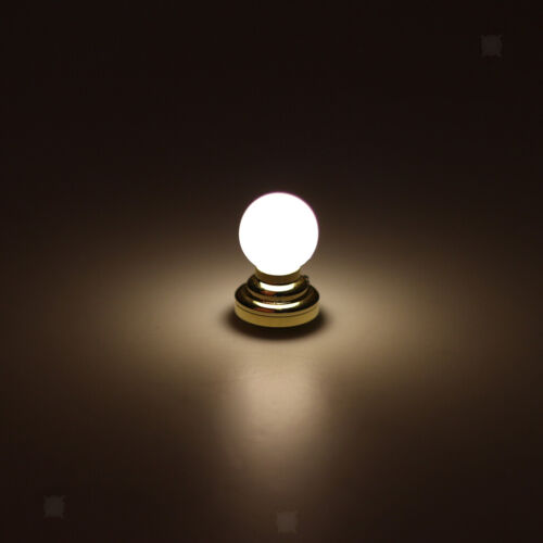 Details about  /3 Pieces 1:12 Dollhouse LED Light Lamp w// Battery Room Decorative Toys