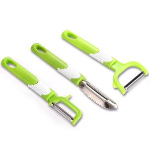 Stainless Steel Pineapple Eye Remover Fruit Peeler Slicer Cutter Kitchen Tool Jh