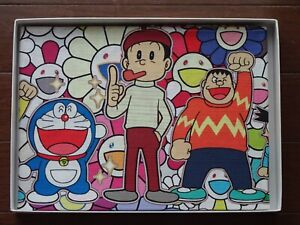 Exclusive 2017 Takashi Murakami x Doraemon Collaboration Big Fabric Cloth NEW