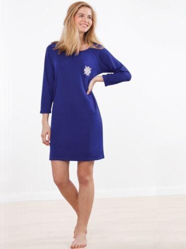 Damen Viskose Sleepshirt Nachthemd Made in EU