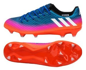 92790a5f34acb Adidas Men Messi 16.1 FG Cleats Soccer Blue Football Shoes Boot ...