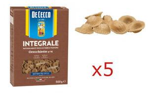 PASTA-DE-CECCO-ORECCHIETTE-DI-GRANO-DURO-INTEGRALE-FONTE-DI-FIBRE-5-PEZZI-2-5kg