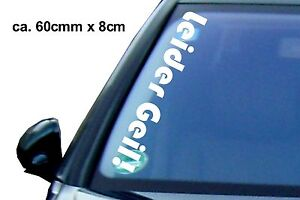 1x Sexy Malheureusement Autocollants 60x8 Cm Voiture Tuning Sticker Shocker Xxl Voiture Autotatto-afficher Le Titre D'origine Dans Beaucoup De Styles