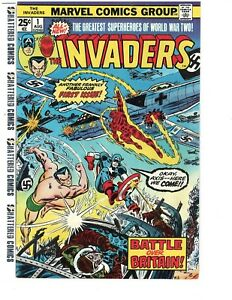 Invaders-Marvel-1st-Series-1-1975-Nice-Copy-Free-Ship