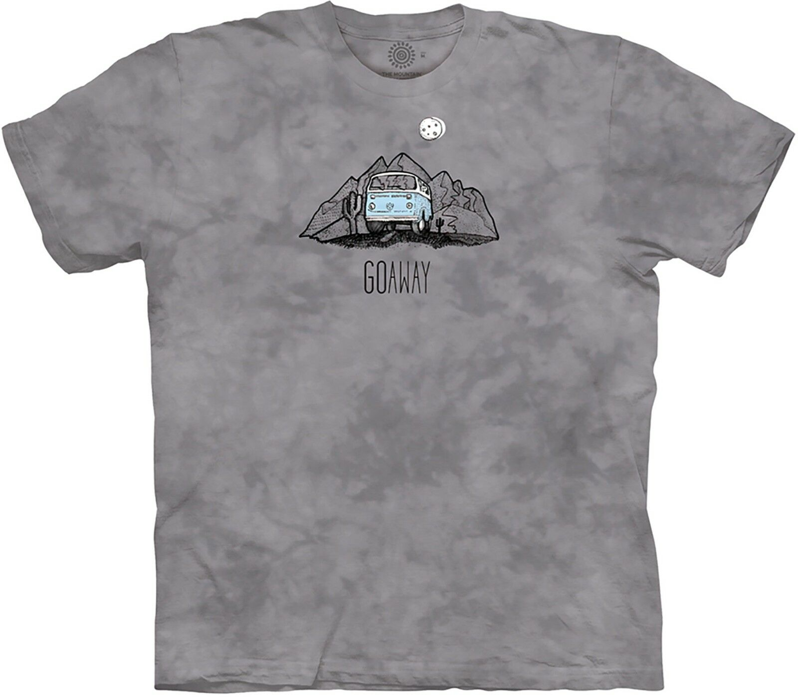 The Mountain Adult Go Away Van MT Life Outdoor T Shirt