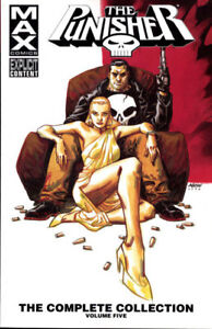 Details about PUNISHER MAX: COMPLETE COLLECTION VOL #5 TPB Garth Ennis Marvel Comics TP 504 PG