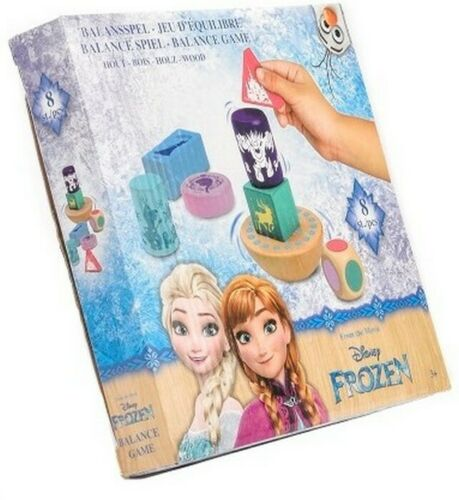 WOODEN BALANCE GAME GREAT FUN FOR KIDS DISNEY FROZEN DOMINO WOOD NEW BOXED