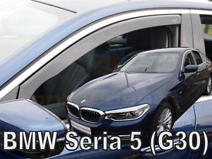 BMW-5-G30-G31-4-5-tuerer-ab-2017-2-tlg-HEKO-dunkel-Windabweiser-Regenabweiser