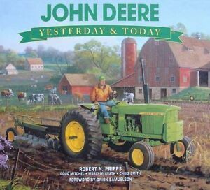 LIVRE-JOHN-DEERE-YESTERDAY-amp-TODAY-tractor-tracteur-pub-ads