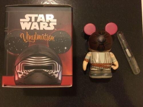 Star Wars Force Awakens Vinylmation Disney Store Exclusive Rey Figure Ep7 3/""