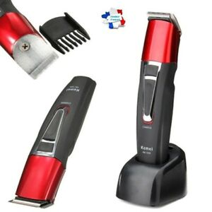 KEMEI KM-1008 Tondeuse à Cheveux Barbe Sans Fil Rechargeable