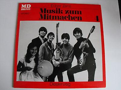 E.ZENS Musik zum Mitmachen 4 / BEATLES Diesterweg LP 8130 superselten! NEAR MINT