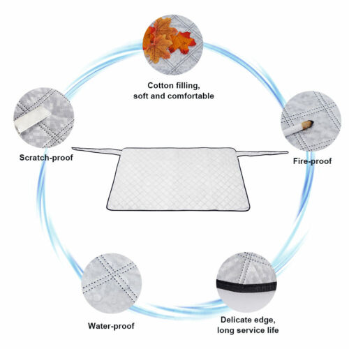 Car Rear Windshield Back Window Snow Cover Sun Shade Frost Ice Dust Protector
