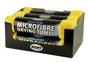6-x-Microfibre-Drying-Towel-800mm-x-620mm-Extra-Large-Towels-Kent-O6100CDU
