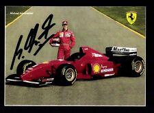 Michael Schumacher Autogrammkarte Formel 1  Weltmeister
