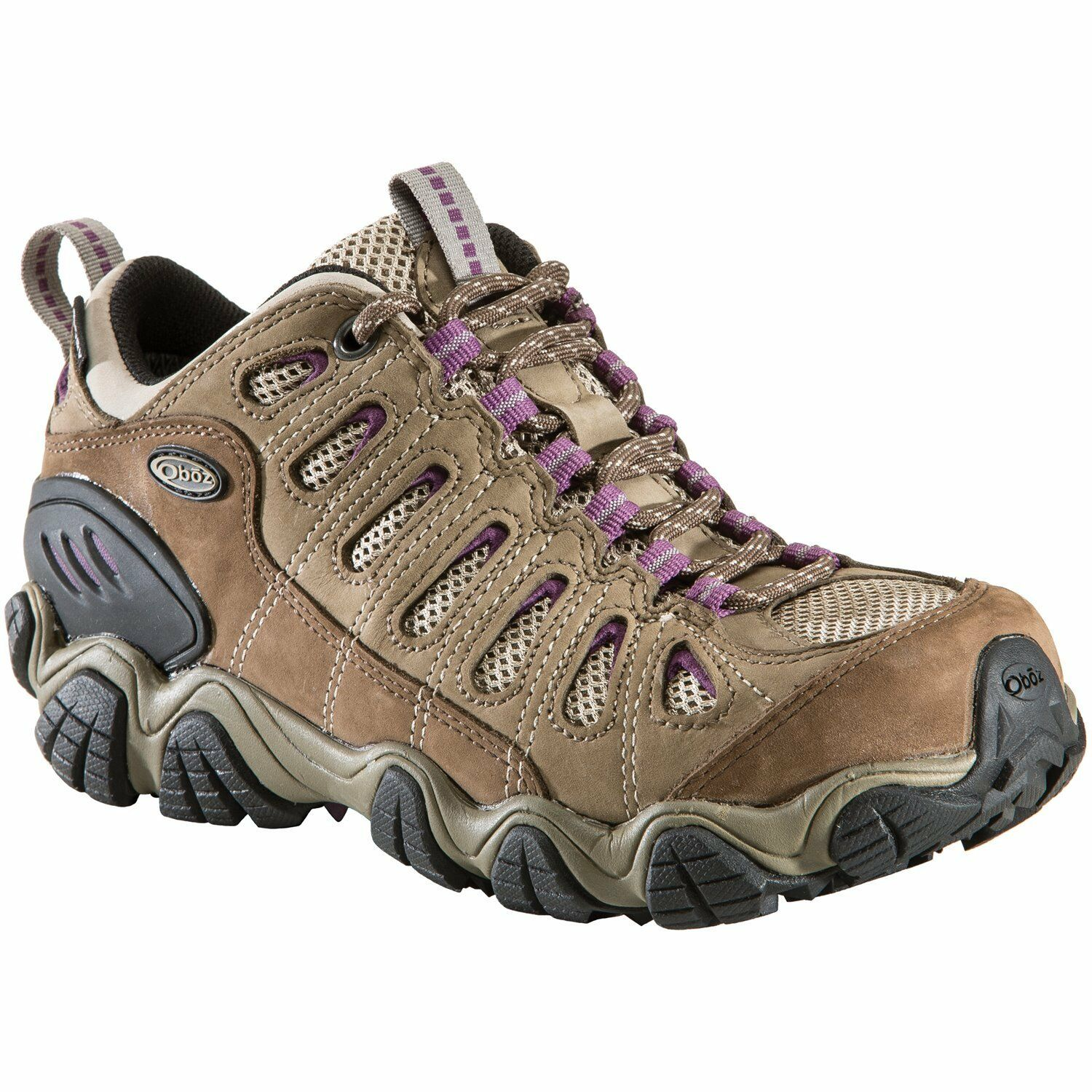 New Oboz Donna Sawtooth Athletic Hiking Trail Athletic Shoes Left 6.5 Right 7