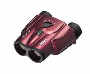 Nikon-Binoculars-ACULON-T11-8-24x25-Porro-Prism-Red-from-Japan