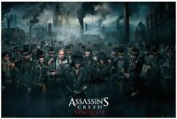Assassin's Creed Syndicate Crowd 24x36 Horizontal Video Game Poster
