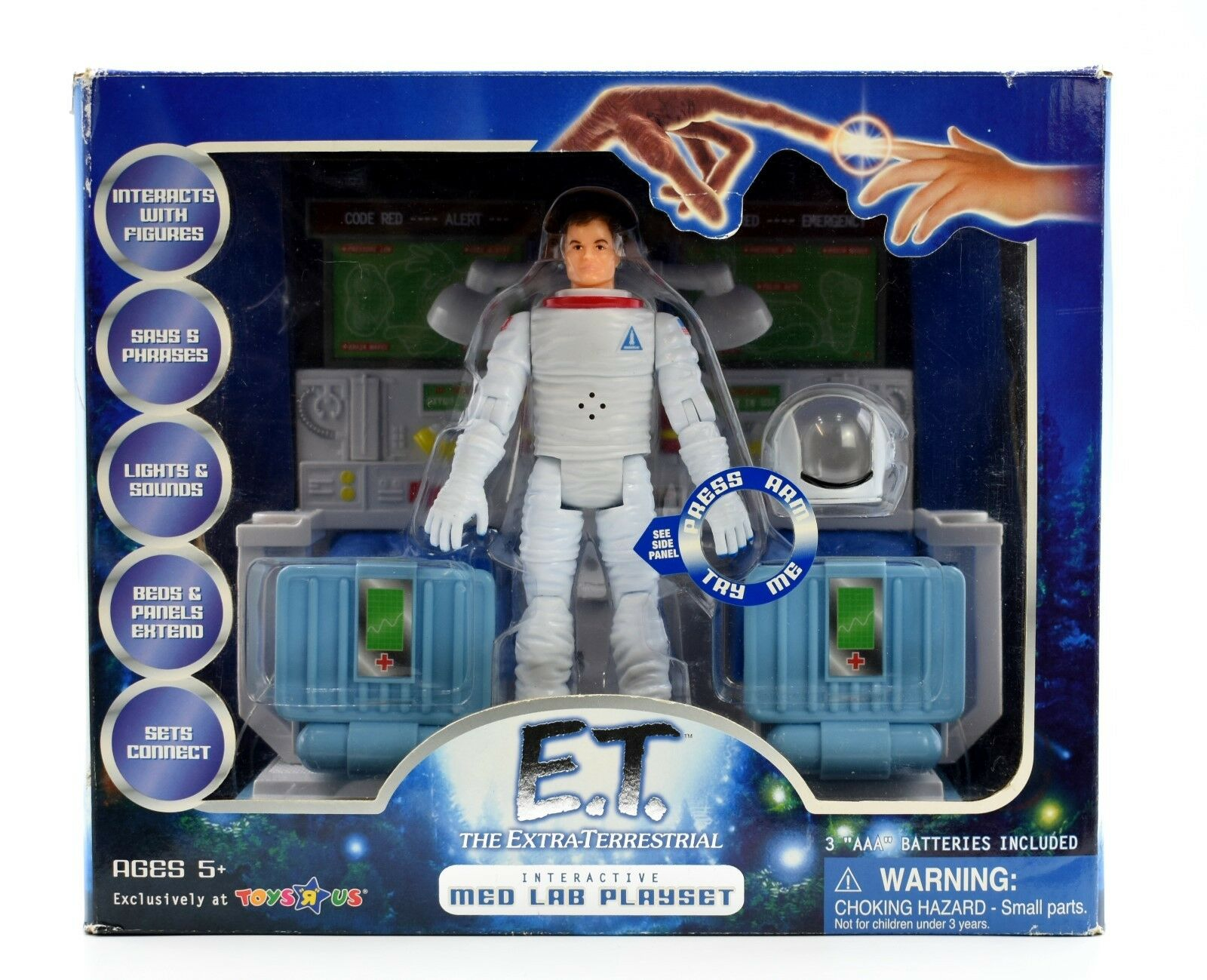 E.T. The Extra-Terrestrial - Interactive Med Lab Action Figure Playset - ToysRus