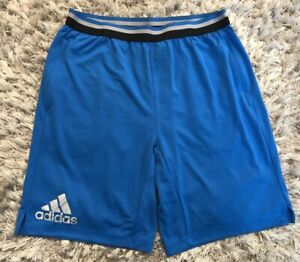 Adidas 365 Climacool 3S Short Mens Short Training Pants Bermuda Sports Pants Blue