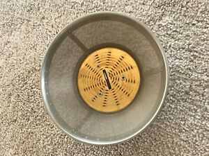 Monique SNOW Wig Golden Auburn Size 10-11 SD BJD shown on My Meadow Mae
