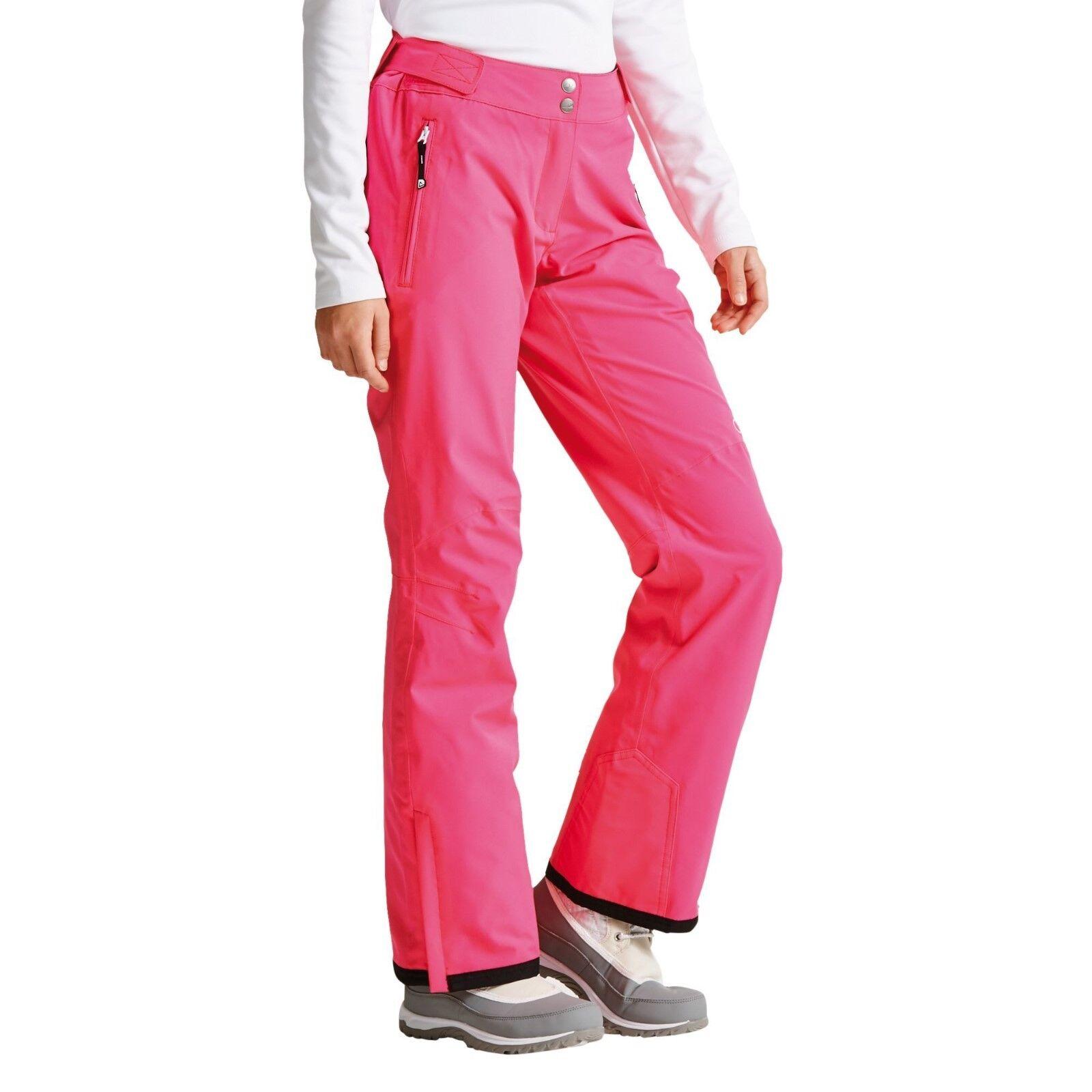 Damen DARE2B Ständer II für Cyber Rosa Stretch Skihosen Kurzes Bein