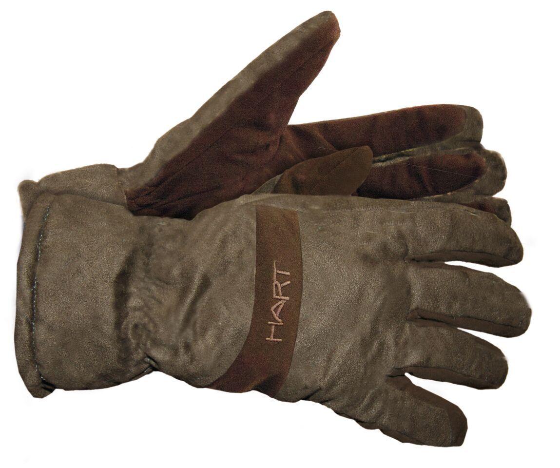 Hart Fingerhandschuhe OAKLAND-GL - wind- und wasserdicht - XHOGLG - green