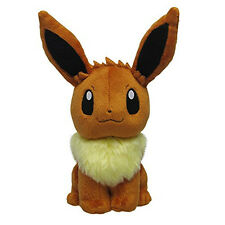Pokemon Plush All Star Collection Eevee Stuffed Toy Sitting Height 17cm Pp7