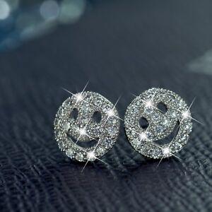 18k-white-gold-gp-made-with-SWAROVSKI-crystal-smiley-face-emoji-stud-earrings