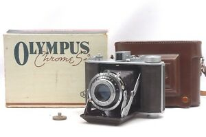 Ship-in-24-Hrs-Rare-OIC-in-Box-Olympus-Six-6x6-6x4-5-Medium-Format-Camera