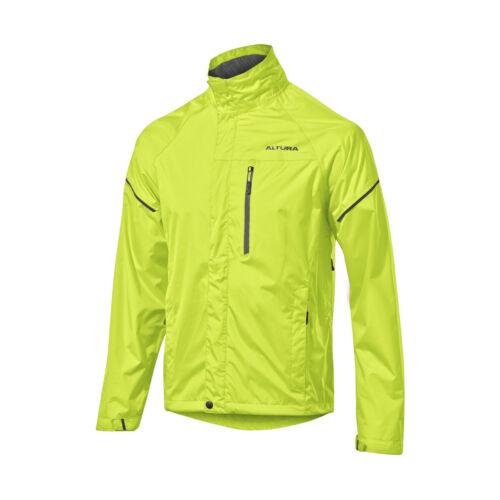 2017 Altura Nevis III Waterproof Jacket in Yellow RRP £59.99