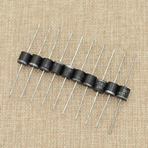 Details about 10Pcs 15a 45v High Efficiency Schottky Axial Rectifier Bypass  Blocking Diode
