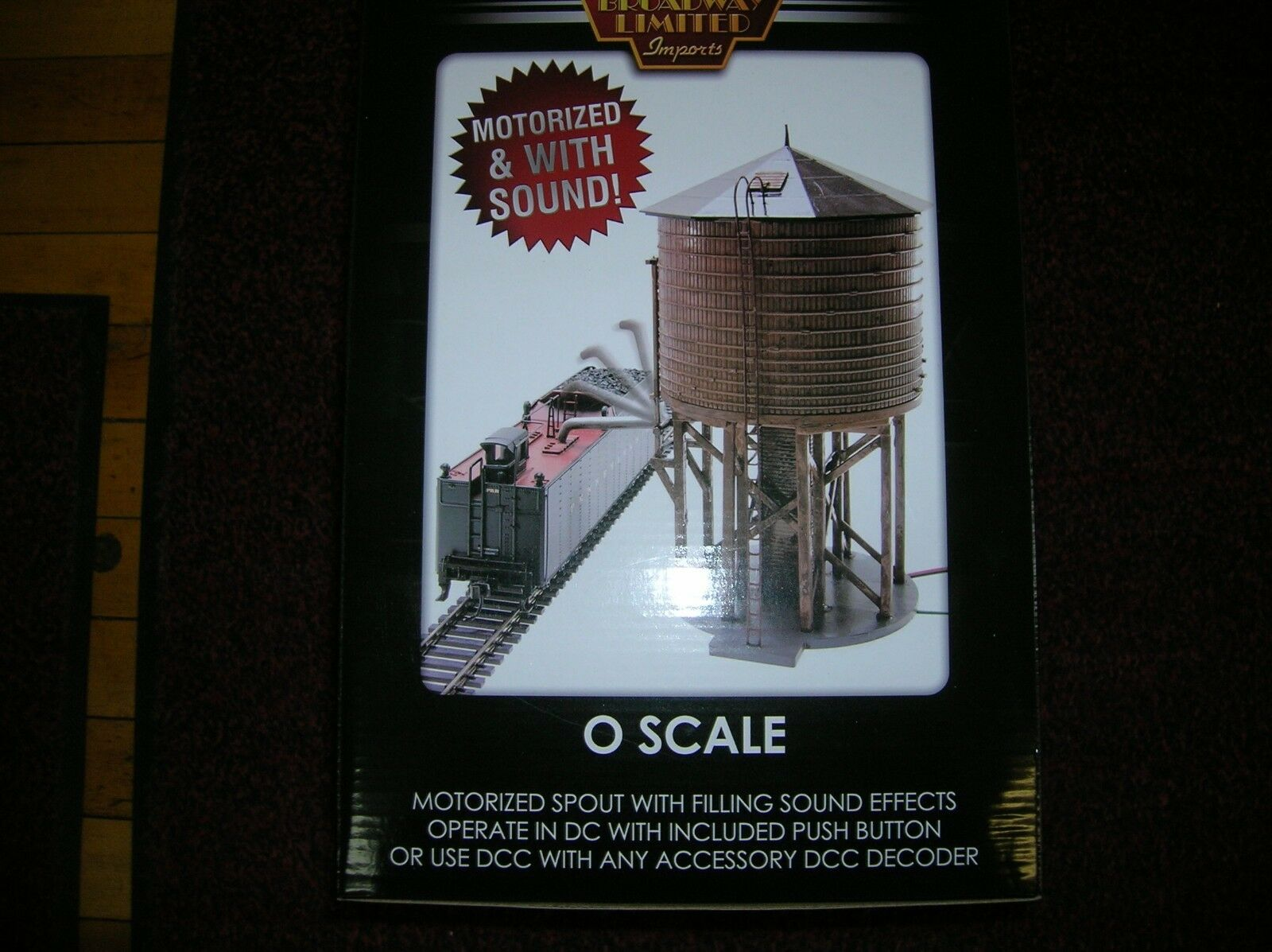 BROADWAY LIMITED    6141 O SCALE OPERATING WATER TOWER / TANK     LOT   12971