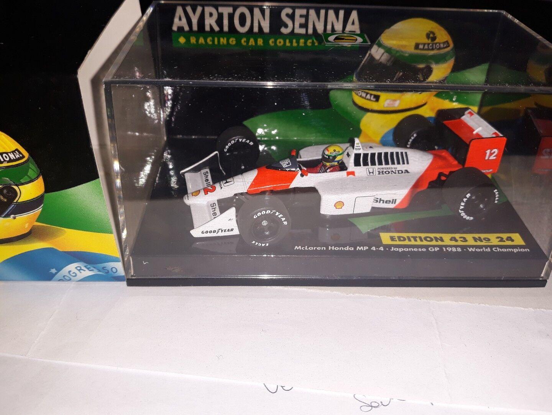 Minichamps 1 43 McLaren Honda MP4 4  12 Japan Gp 1988 World Champion Senna  24