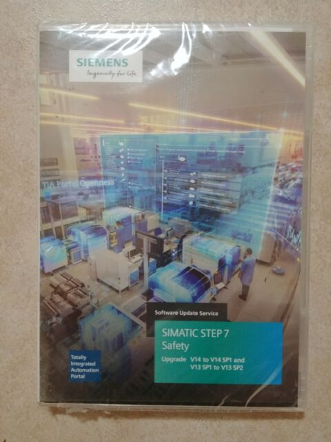 Siemens EWK-SUS1076016 SIMATIC STEP 7 Safety Upgrade V14 to V14 SP1, V13 to  SP2