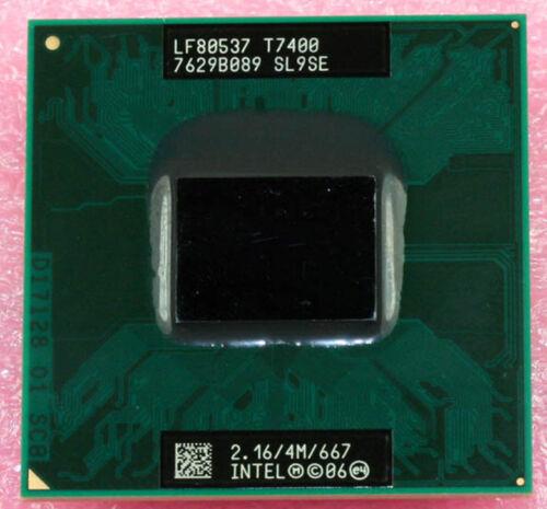 4 m 667 processor 1PC Intel core 2 duo T7400 SL9SE 2.16 Ghz