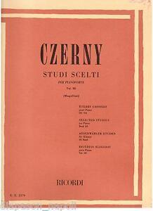 Czerny: Studien Sortiert Für Klavier (Mugellini) Volumen III - Erinnerungen