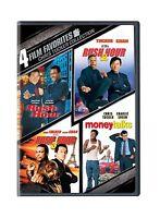 4 Film Favorites: Chris Tucker (money Talks Rush Hour Rush Hour... Free Shipping