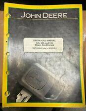 John Deere 525 530 Amp 535 Mower Conditioner Op Manual Omfh300943 L4 S 6