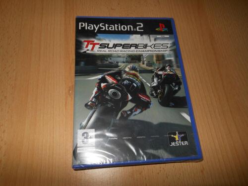 1 of 1 - ps2 TT SUPERBIKES Real Road Racing Championship Playstation PAL NEW SEALED