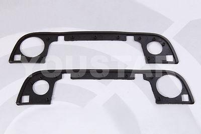 Set 2x New Front Outer Door Handle Gasket Rubber Seals